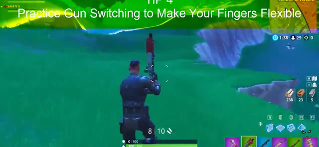 Practice gun Switching to make Your Fingers Flexible