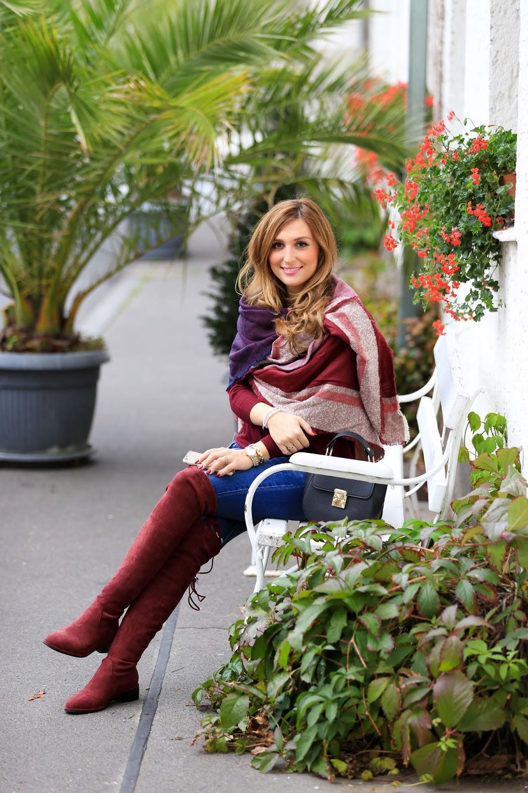 Winter Trendsc - was zieht man im Winter an- Winterlook-winteroutfit-xxl schal-blogger aus Deutschland-deutsche modeblogger