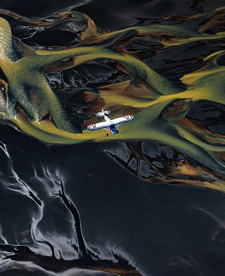 Northern Europe is like an alien land with a view from above