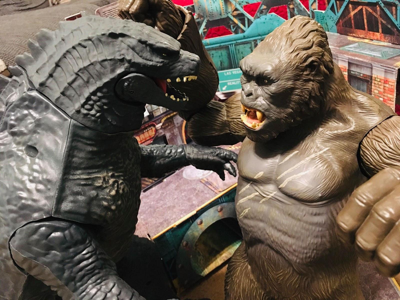 The Terrible Toyman : Godzilla vs  Kong