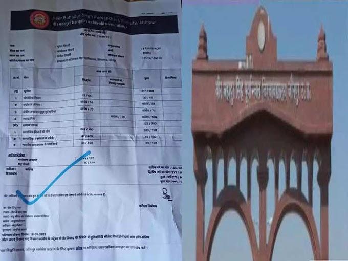 छात्र की मार्कशीट पर नंबर की जगह लिख दिया 'कांग्रेस' | #NayaSaberaNetwork