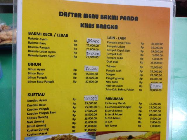 info kuliner bakmi di daerah Sunter Jakarta Utara