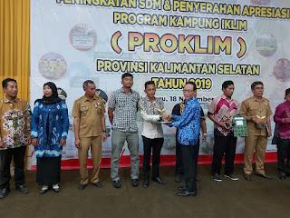 Desa Mitra Indocement Terima Penghargaan Proklim