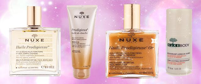Prírodná kozmetika Nuxe