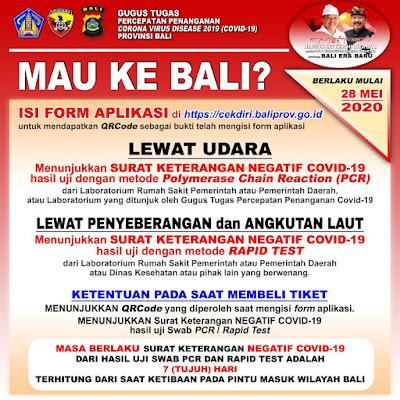 Aturan Baru Berkunjung Ke Bali