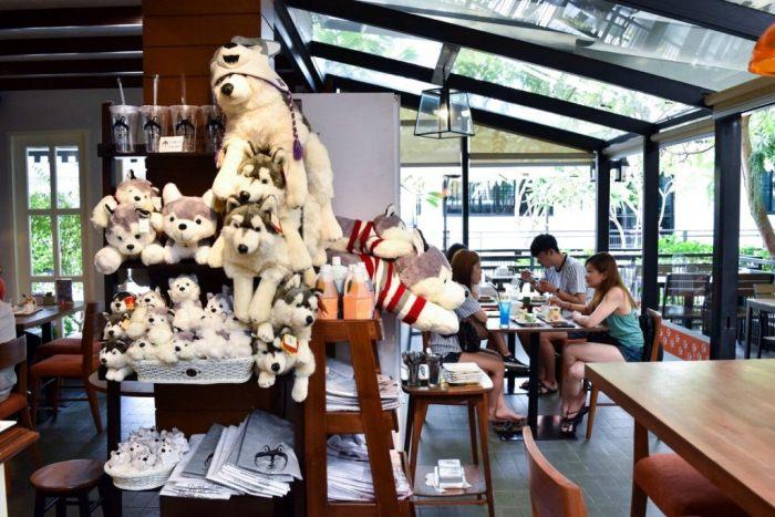 Husky cafe thailand