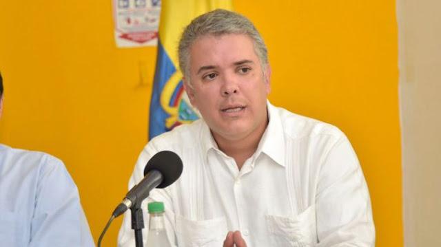 Iván Duque reclama apoyo de toda América Latina con el éxodo venezolano
