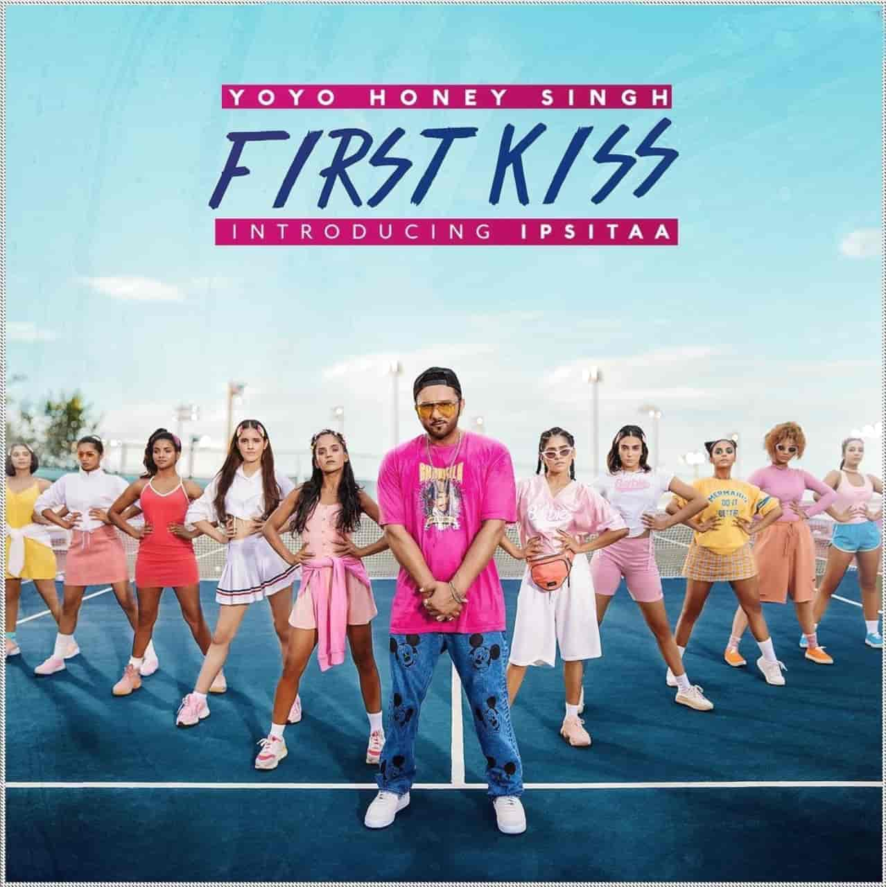 FIRST KISS RAP SONG IMAGE FEATURES HONEY SINGH AND IPSITAA