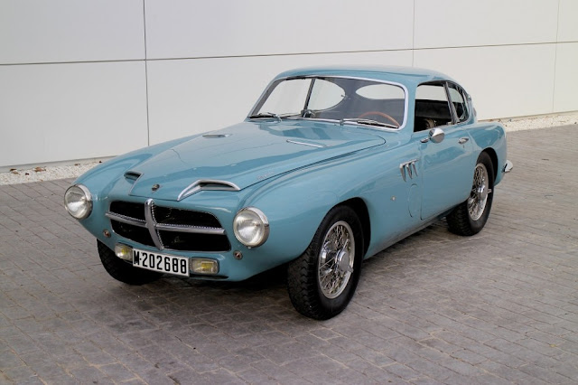 Pegaso Z-102 1950s Spanish classic car