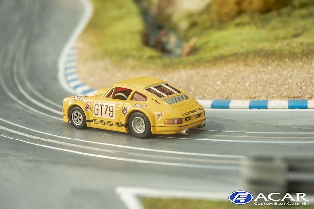 Slot Car Custom Porsche 911S #79 Banendampfer Nürburgring 1970