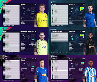 PES 2021 Facepack 1 by Random Facemaker