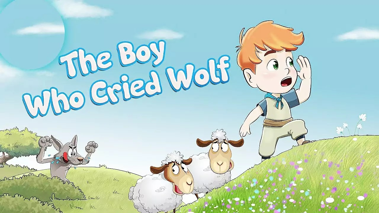 The Boy Who Cried Wolf Story with Moral for Kids