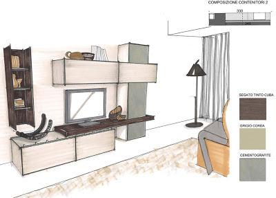 DOMUS ARREDI Composizioni JESSE tante proposte per la tua casa