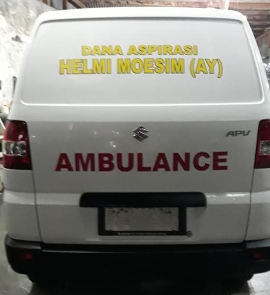 Soal Ambulance dan Betor, LPM Seberang Palinggam Mengaku Didesak Masyarakat
