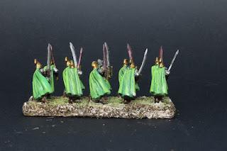 king of war : l'Armée des elfes. Garde du palais.