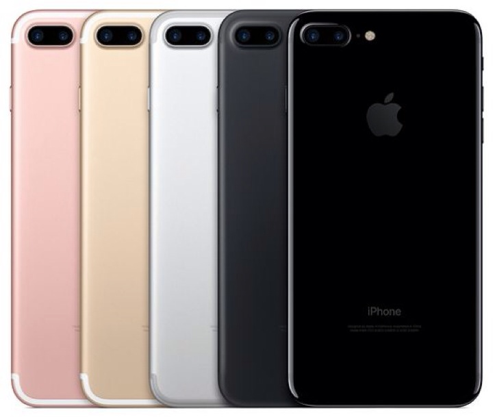 Pilihan warna seri iPhone 7