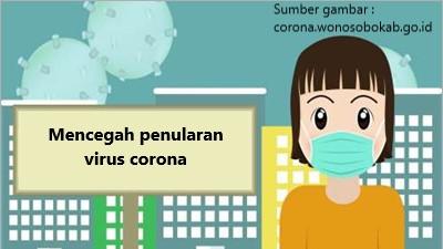 mencegah penularan virus corona