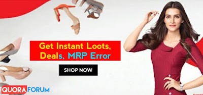 Instant Loot Offers Deals - Paytm, Amazon, Flipkart, Errors and Bugs