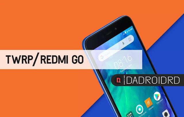 lagi mengejutkan pasar dengan merilis sebuah smartphone super murah yang keren yaitu adala TWRP untuk Redmi Go (TIARE)