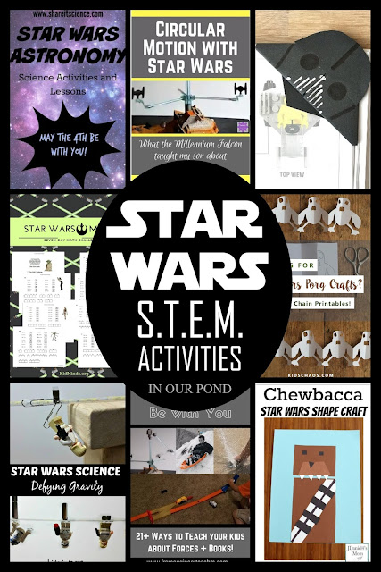 Star Wars STEM (science, technology, engineering, and math) Activities // In Our Pond // homeschooling // classroom // learning activities // education // elementary // school