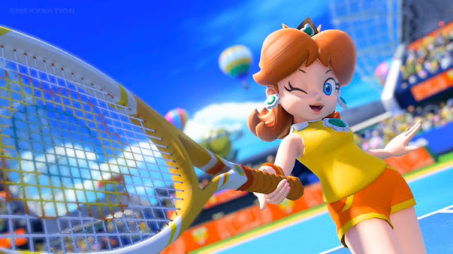 Mario tennis aces princess daisy