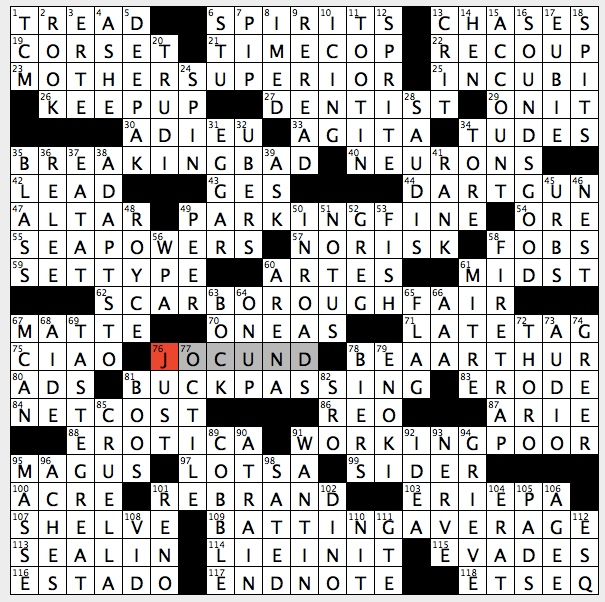 Rex Parker Does The Nyt Crossword Puzzle 16501 16511 Sun 11 17 19 1994 Jean Claude Van Damme Sci Fi Thriller Do Old Printing House Job Norman Lear Series Star Noted Deco