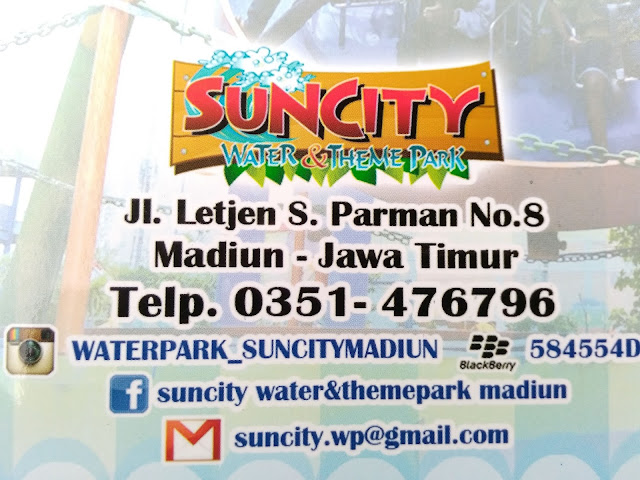 Alamat Suncity Madiun