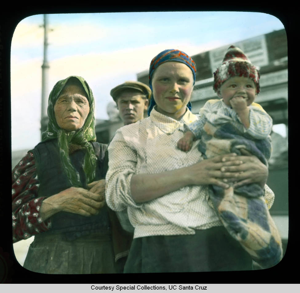 People Of Moscow 1931 Vintage Everyday