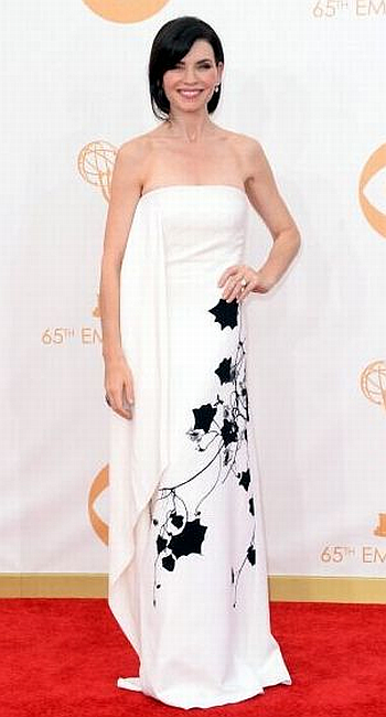 Julianna Margulies in Reed Krakoff at the 65th Annual Primetime Emmy Awards, 2013