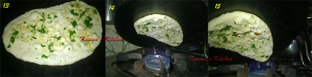 How to make naan without tandoor