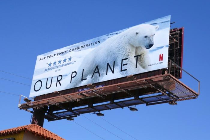 Our Planet Polar Bear season 1 Emmy FYC billboard