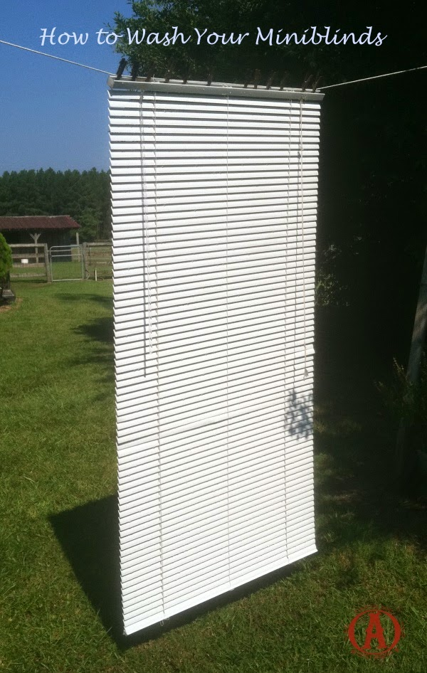 How To Wash Your Miniblinds One Ash Homestead