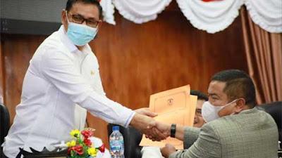 Saran dan Kritikan Fraksi Diperlukan untuk Kemajuan Kabupaten Solok