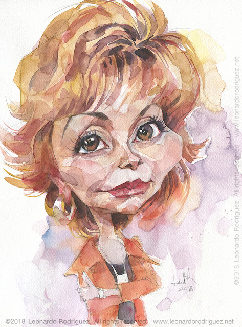 Cartoonist Isabel Allende