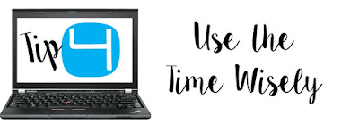 Tips for Successful Conferences - use your time wisely. Families deserve to have their time honored.