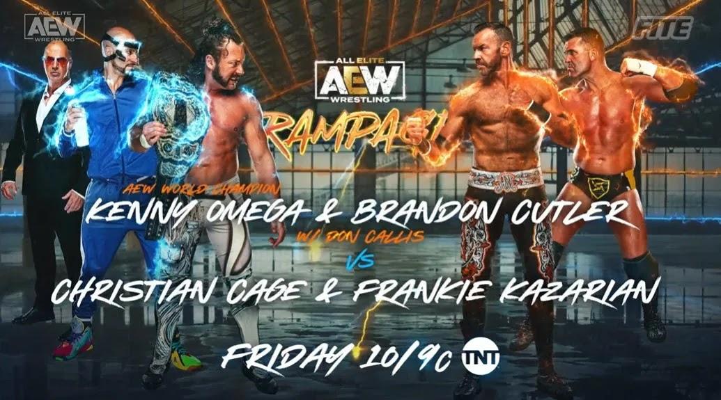 "Grandes ""spoilers"" para o próximo AEW Rampage"