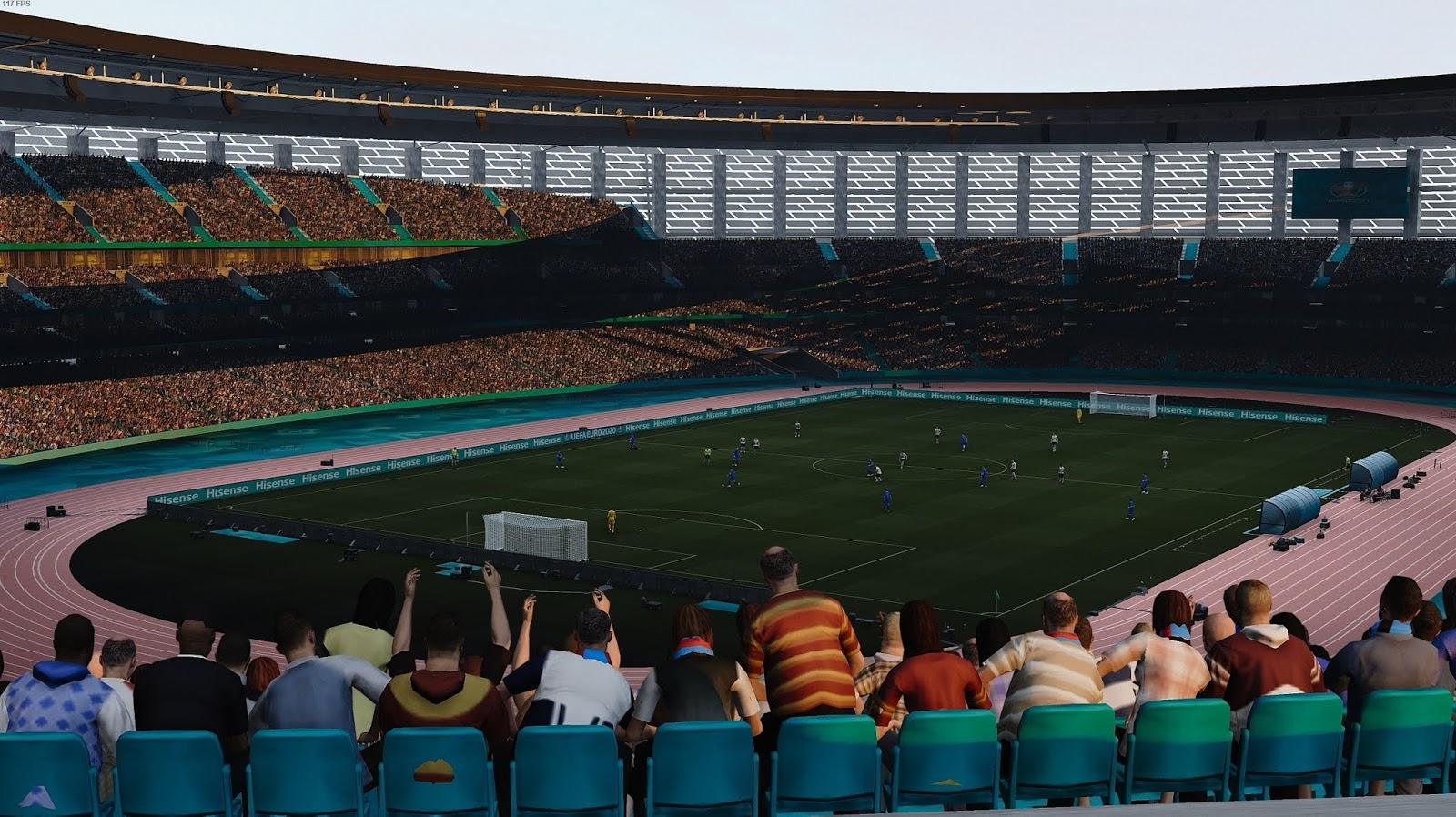 2020 EURO version Baku 2020 Stadium Olympic PES