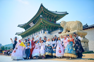 Gyeongbok Palace + Memakai Baju Hanbok