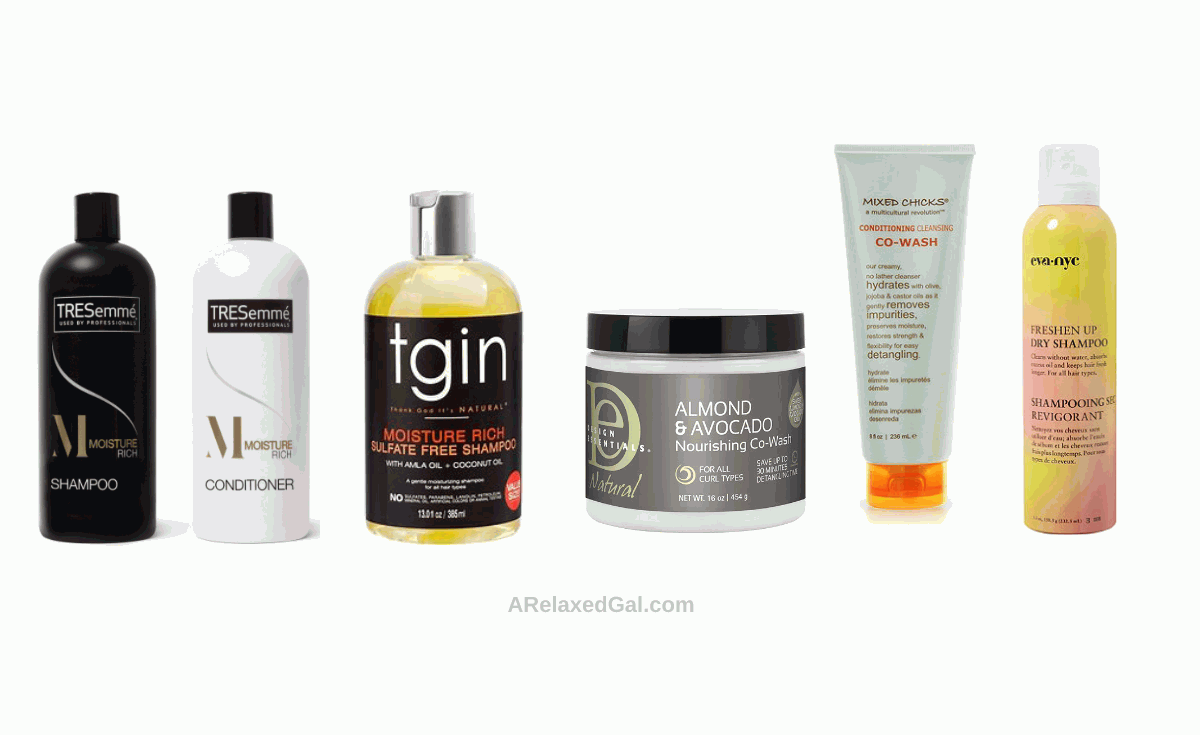 Hair care gift ideas - shampoos and co-washes | A Relaxed Gal