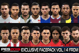 Exclusive Facepack Vol. 14 - PES 2019