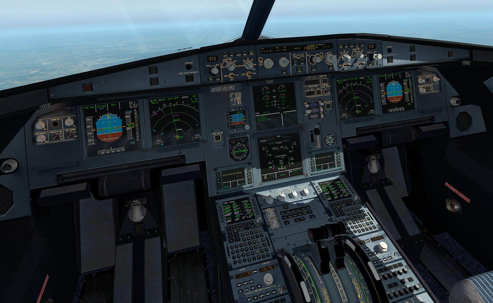 Airbus A320 - JarDesign versus FlightFactor