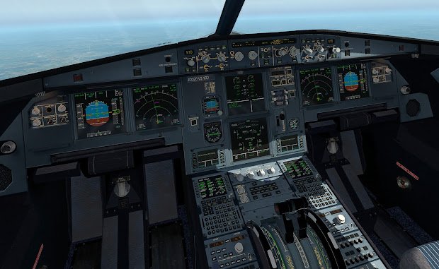 Cockpit A320 Jardesgin - Year of Clean Water