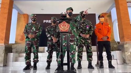 TNI Luruskan Kabar Simpang Siur 'Kapal Selam KRI Nanggala-402 Ditemukan'