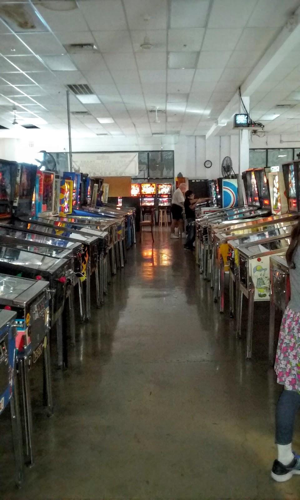 dentro del pinball hall of fame