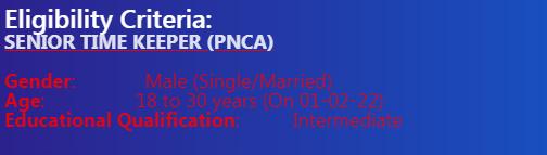 Pak Navy as Civilian Jobs 2021