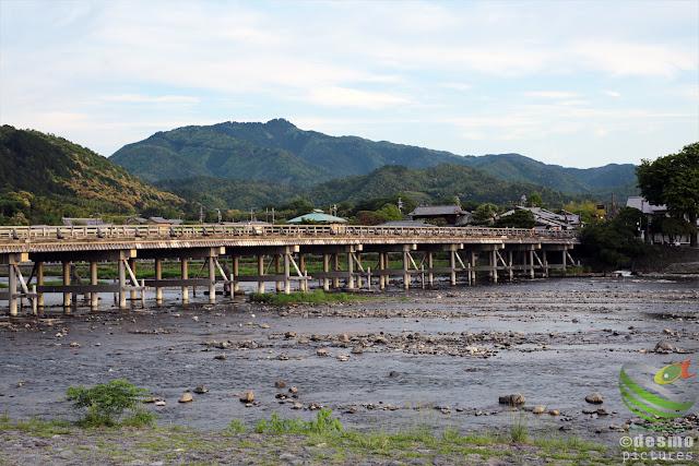 京都~渡月橋