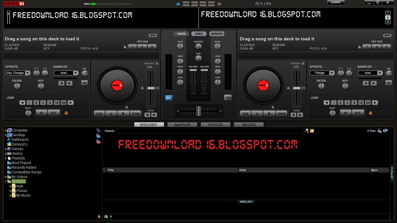 Atomix virtual dj 6 0 5 pro cracked sound effects free
