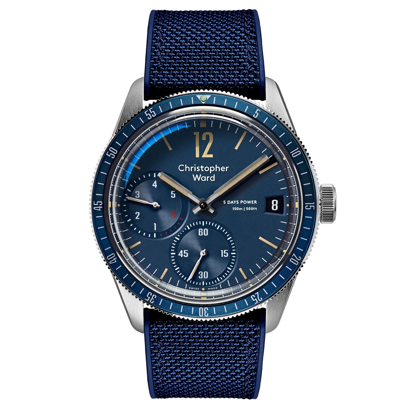 Christopher Ward's new C65 Trident Diver SH21 L.E. CHRISTOPHER%2BWARD%2BC65%2BTrident%2BDiver%2BSH21%2BLIMITED%2BEDITION%2B03