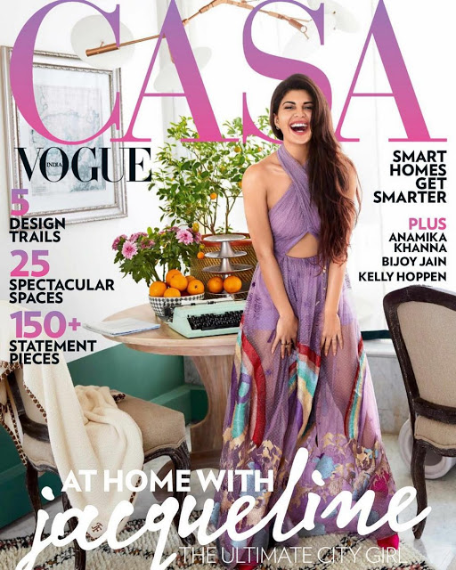 Jacqueline Fernandez Hot Photo Shoot for Casa Vogue 2017