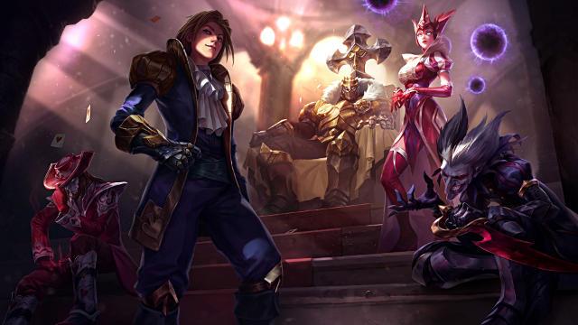 League of Legends Ace of Spades Ezreal - Fond d'écran en Full HD